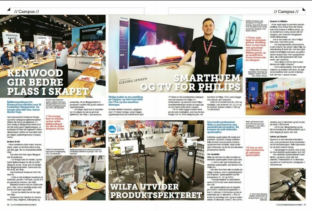 """Artikkelen ble første gang publisert i papirutgaven av fagbladet Elektronikkbransjen nr. 4/2019, som ble distribuert 28. august. <a href=""""http://www.mypaper.se/html5/customer/248/12568/?page=70"""" target=""""_blank"""" rel=""""noopener"""">Her kan du lese artikkelen</a> og bla gjennom digitalutgaven av bladet. Du kan lese alle utgaver av bladet digitalt, fra og med nr. 1/1937, på <a href=""""https://www.elektronikkbransjen.no/historiskarkiv"""" target=""""_blank"""" rel=""""noopener"""">elektronikkbransjen.no/historiskarkiv</a>."""
