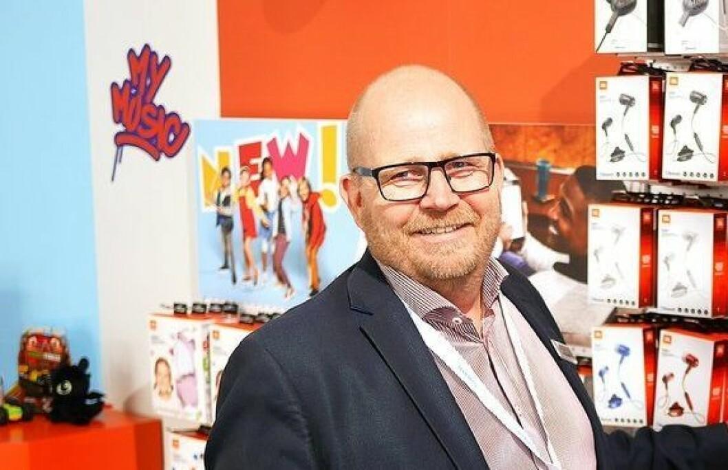 Frank Bruun og Lesta Nordic blir ny distributør for Tivoli Audio. Foto: Stian Sønsteng