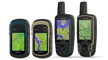 Garmin GPSMAP 64x og 64sx og eTrex 22x og 32x
