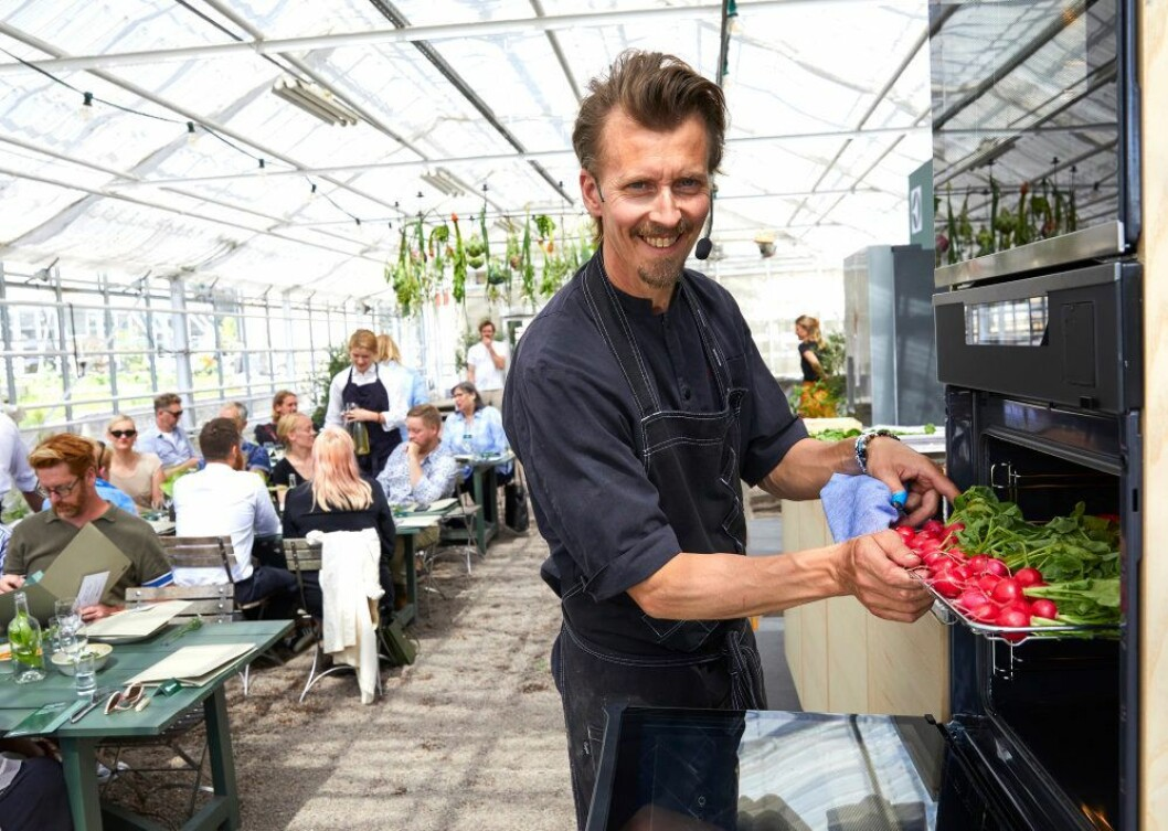 Electrolux har fått den svenske kjendiskokken Paul Svensson med på laget. Foto: Electrolux