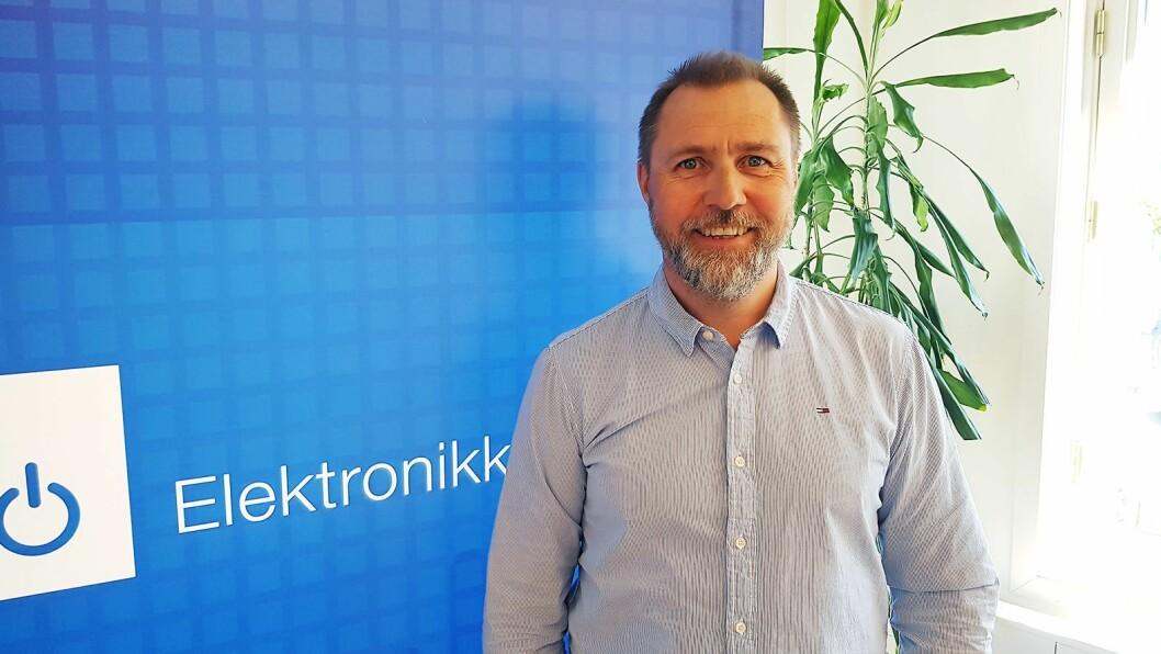 Anders Holm tilbyr bransjens medlemmer ulike coaching-tjenester. Foto: Jan Røsholm