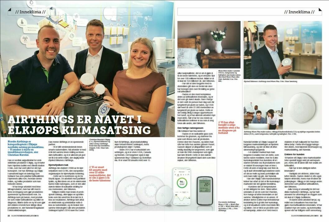 """Artikkelen ble første gang publisert i papirutgaven av fagbladet Elektronikkbransjen nr. 4/2019, som ble distribuert 28. august. <a href=""""http://www.mypaper.se/html5/customer/248/12568/?page=22"""" target=""""_blank"""" rel=""""noopener"""">Her kan du lese artikkelen</a> og bla gjennom digitalutgaven av bladet. Du kan lese alle utgaver av bladet digitalt, fra og med nr. 1/1937, på <a href=""""https://www.elektronikkbransjen.no/historiskarkiv"""" target=""""_blank"""" rel=""""noopener"""">elektronikkbransjen.no/historiskarkiv</a>."""