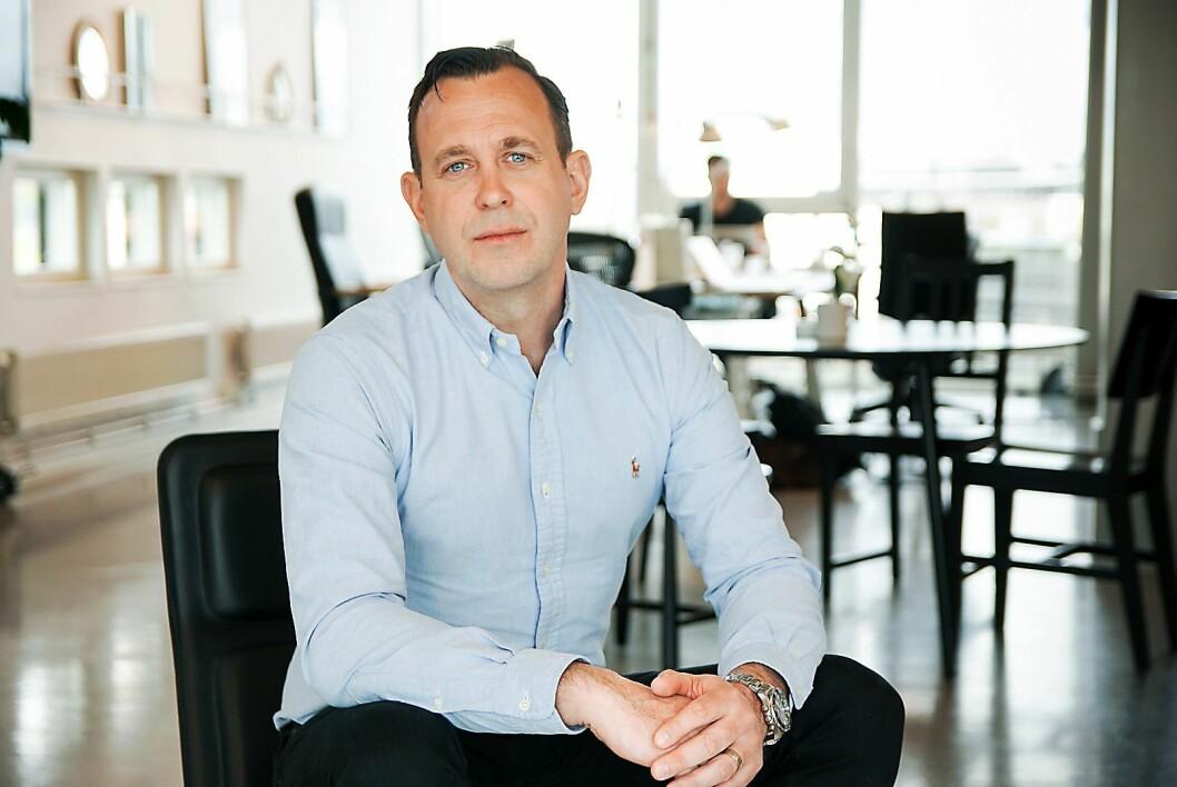 Tobias Lindh er sjef for Adyen i Norden og Baltikum. Foto: Adyen.
