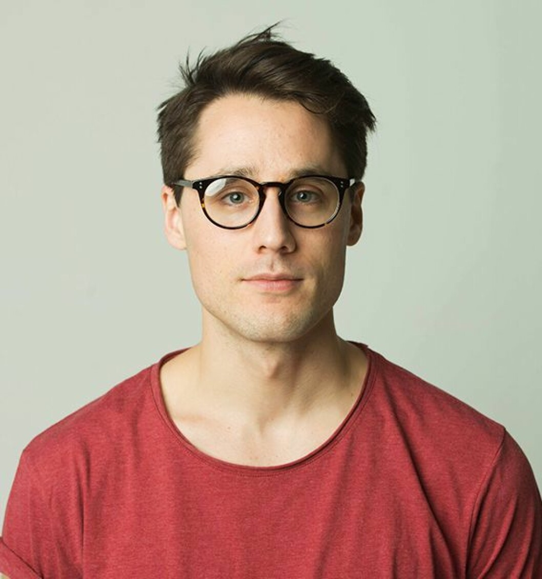 Marketingsjef Simen Schikulski i Benum. Foto: Benum.