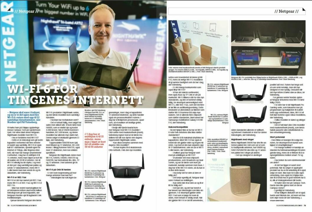"""Artikkelen ble første gang publisert i papirutgaven av fagbladet Elektronikkbransjen nr. 4/2019, som ble distribuert 28. august. <a href=""""http://www.mypaper.se/html5/customer/248/12568/?page=78"""" target=""""_blank"""" rel=""""noopener"""">Her kan du lese artikkelen</a> og bla gjennom digitalutgaven av bladet. Du kan lese alle utgaver av bladet digitalt, fra og med nr. 1/1937, på <a href=""""https://www.elektronikkbransjen.no/historiskarkiv"""" target=""""_blank"""" rel=""""noopener"""">elektronikkbransjen.no/historiskarkiv</a>."""