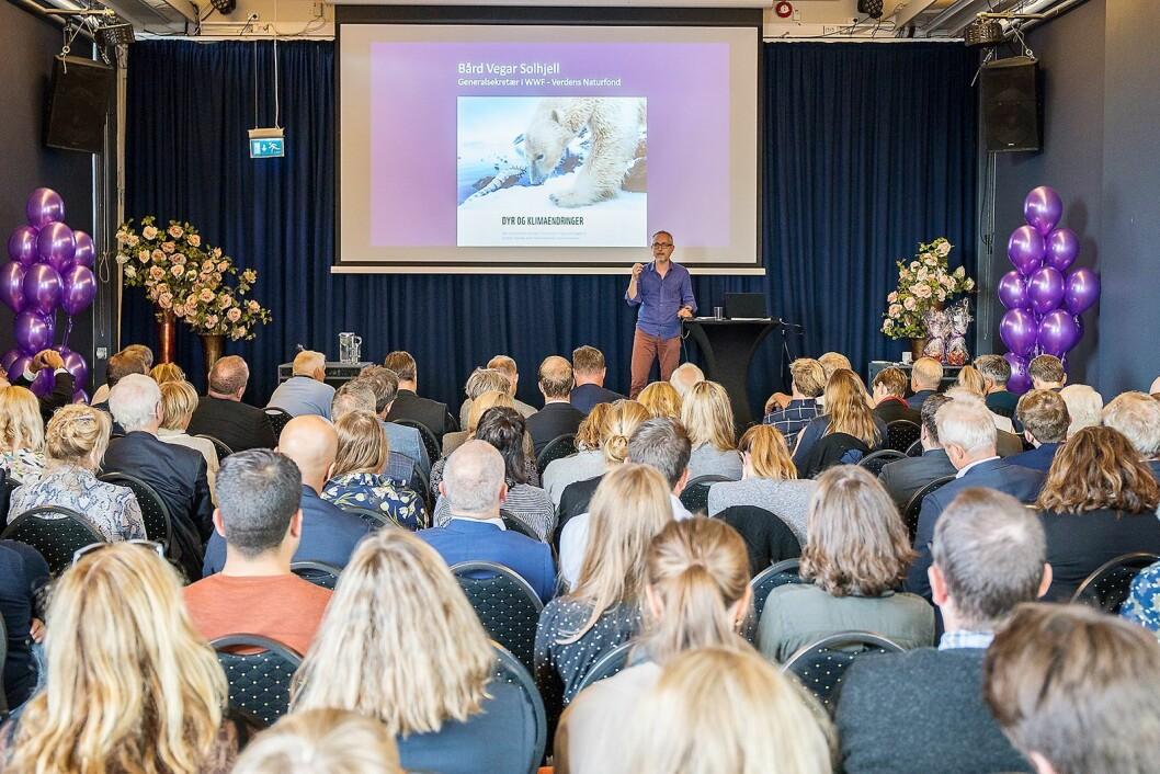 Generalsekretær i WWF, Bård Vegar Solhjell, er opptatt av å få plast inn i sirkulærøkonomien. Foto: Norsirk/Simen Berg.