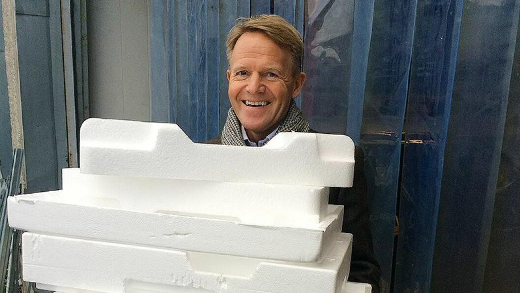 Stig Ervik er administrerende direktør i Norsirk, som er morselskapet til Emballasjegjenvinning AS. Foto: Norsirk