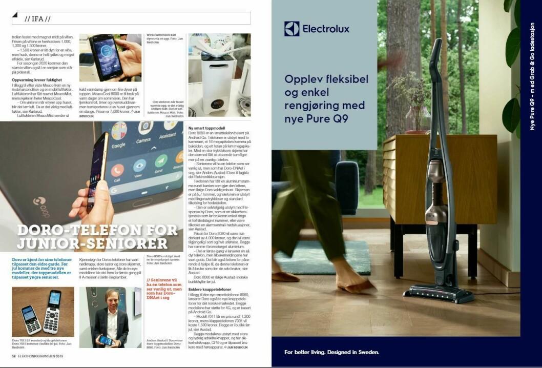 """Artikkelen ble første gang publisert i papirutgaven av fagbladet Elektronikkbransjen nr. 5/2019, som ble distribuert 9. oktober. <a href=""""http://www.mypaper.se/html5/customer/248/12614/?page=58"""" target=""""_blank"""" rel=""""noopener"""">Her kan du lese artikkelen</a> og bla gjennom digitalutgaven av bladet. Du kan lese alle utgaver av bladet digitalt, fra og med nr. 1/1937, på <a href=""""https://www.elektronikkbransjen.no/historiskarkiv"""" target=""""_blank"""" rel=""""noopener"""">elektronikkbransjen.no/historiskarkiv</a>."""