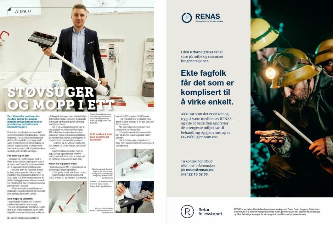 """Artikkelen ble første gang publisert i papirutgaven av fagbladet Elektronikkbransjen nr. 5/2019, som ble distribuert 9. oktober. <a href=""""http://www.mypaper.se/html5/customer/248/12614/?page=32"""" target=""""_blank"""" rel=""""noopener"""">Her kan du lese artikkelen</a> og bla gjennom digitalutgaven av bladet. Du kan lese alle utgaver av bladet digitalt, fra og med nr. 1/1937, på <a href=""""https://www.elektronikkbransjen.no/historiskarkiv"""" target=""""_blank"""" rel=""""noopener"""">elektronikkbransjen.no/historiskarkiv</a>."""