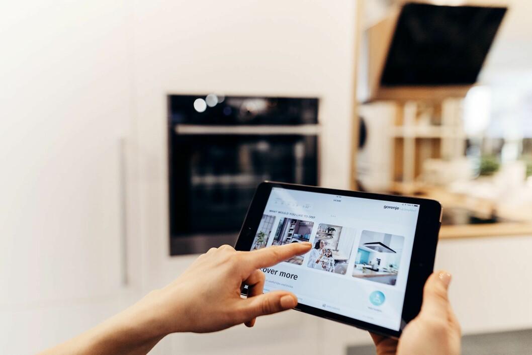 Connect Life-funksjonene har kommet i alle Gorenjes nye produkter, og Hisense har vært pådriver for smartløsningene. Foto: Gorenje