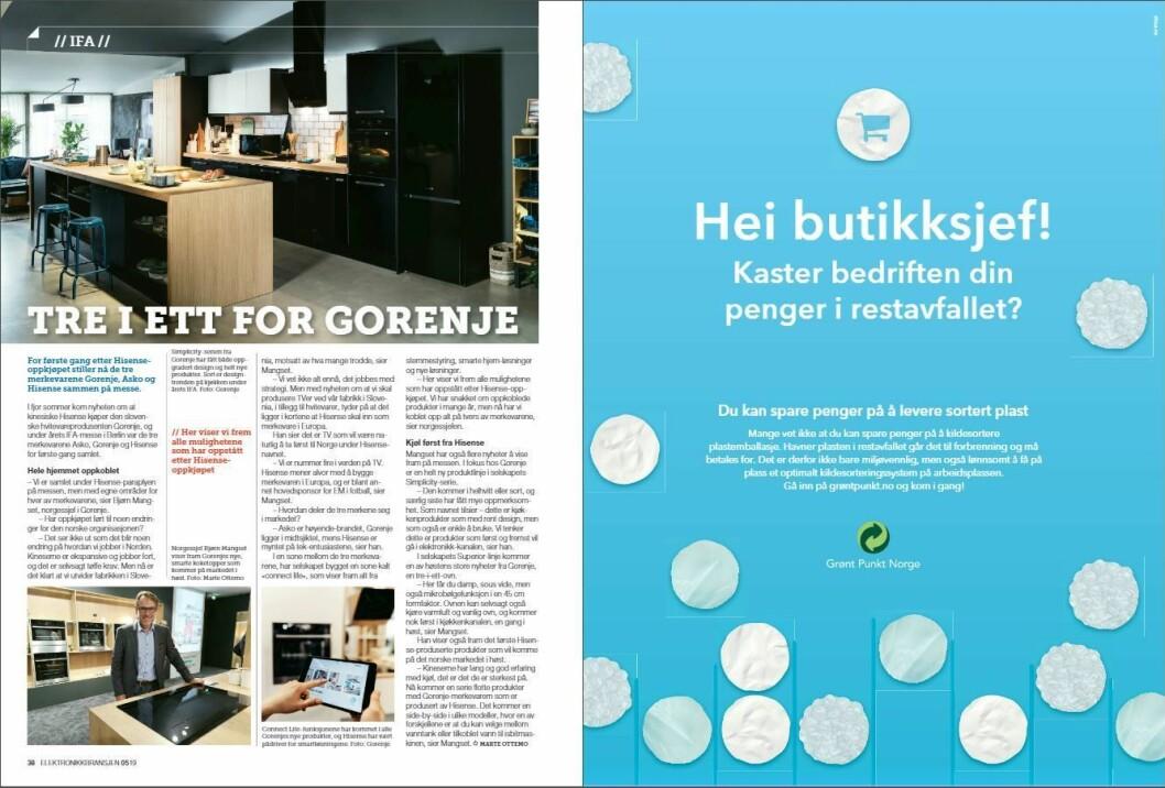 """Artikkelen ble første gang publisert i papirutgaven av fagbladet Elektronikkbransjen nr. 5/2019, som ble distribuert 9. oktober. <a href=""""http://www.mypaper.se/html5/customer/248/12614/?page=38"""" target=""""_blank"""" rel=""""noopener"""">Her kan du lese artikkelen</a> og bla gjennom digitalutgaven av bladet. Du kan lese alle utgaver av bladet digitalt, fra og med nr. 1/1937, på <a href=""""https://www.elektronikkbransjen.no/historiskarkiv"""" target=""""_blank"""" rel=""""noopener"""">elektronikkbransjen.no/historiskarkiv</a>."""