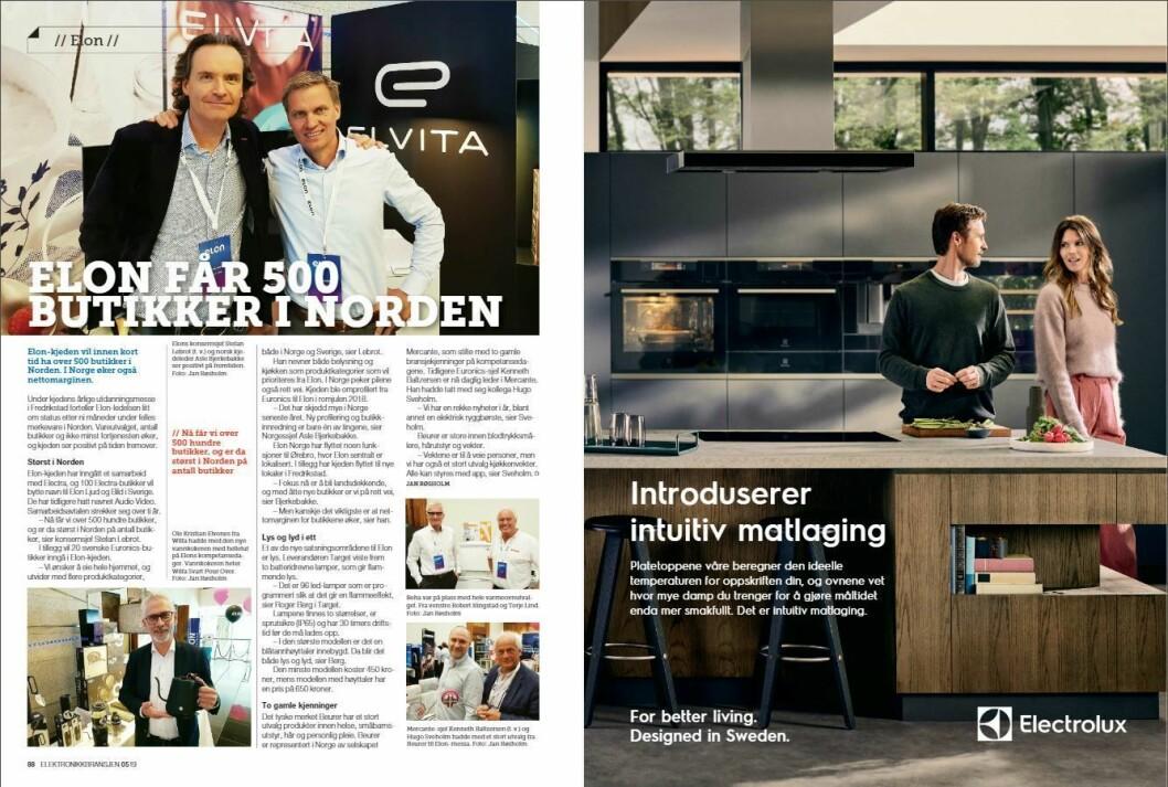 """Artikkelen ble første gang publisert i papirutgaven av fagbladet Elektronikkbransjen nr. 5/2019, som ble distribuert 9. oktober. H<a href=""""http://www.mypaper.se/html5/customer/248/12614/?page=88"""" target=""""_blank"""" rel=""""noopener"""">er kan du lese artikkelen</a> og bla gjennom digitalutgaven av bladet. Du kan lese alle utgaver av bladet digitalt, fra og med nr. 1/1937, på <a href=""""https://www.elektronikkbransjen.no/historiskarkiv"""" target=""""_blank"""" rel=""""noopener"""">elektronikkbransjen.no/historiskarkiv</a>."""