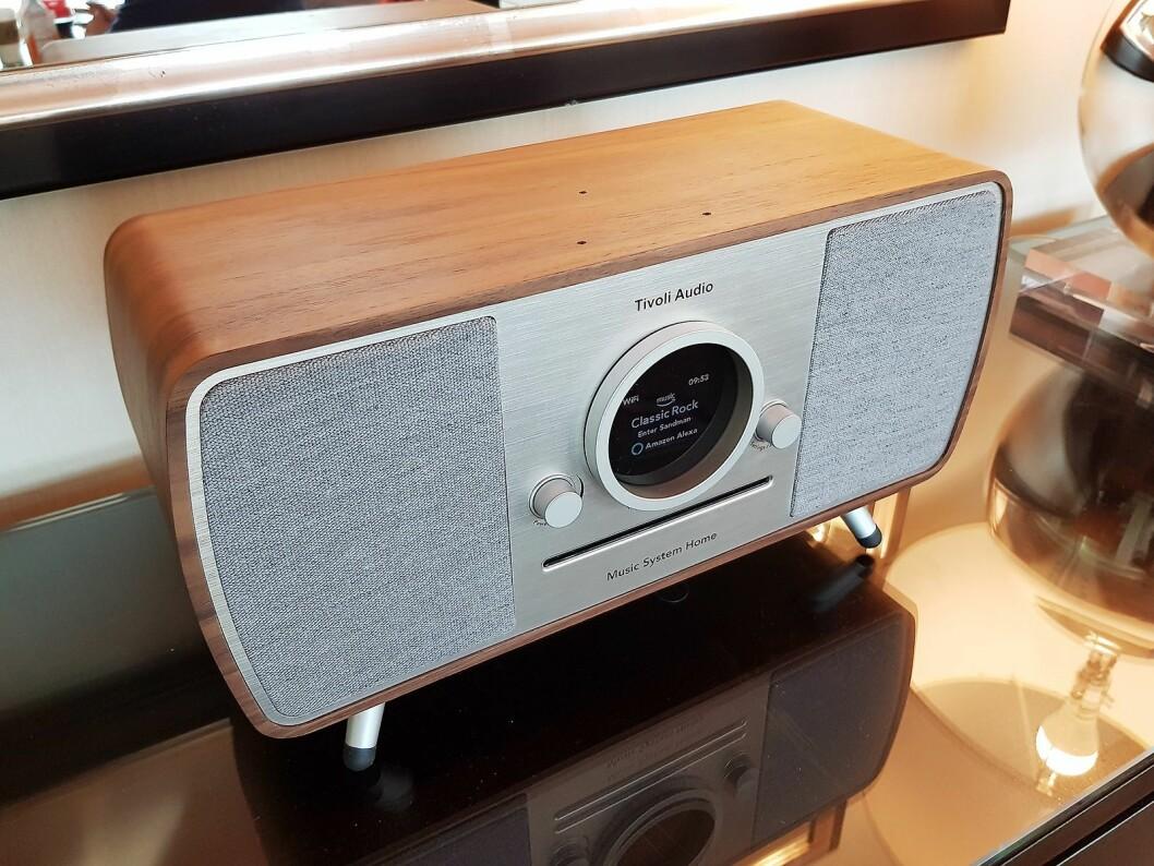 Tivoli Music Home system fikk Amazon Alexa i september, og er nå relansert. Foto: Jan Røsholm.