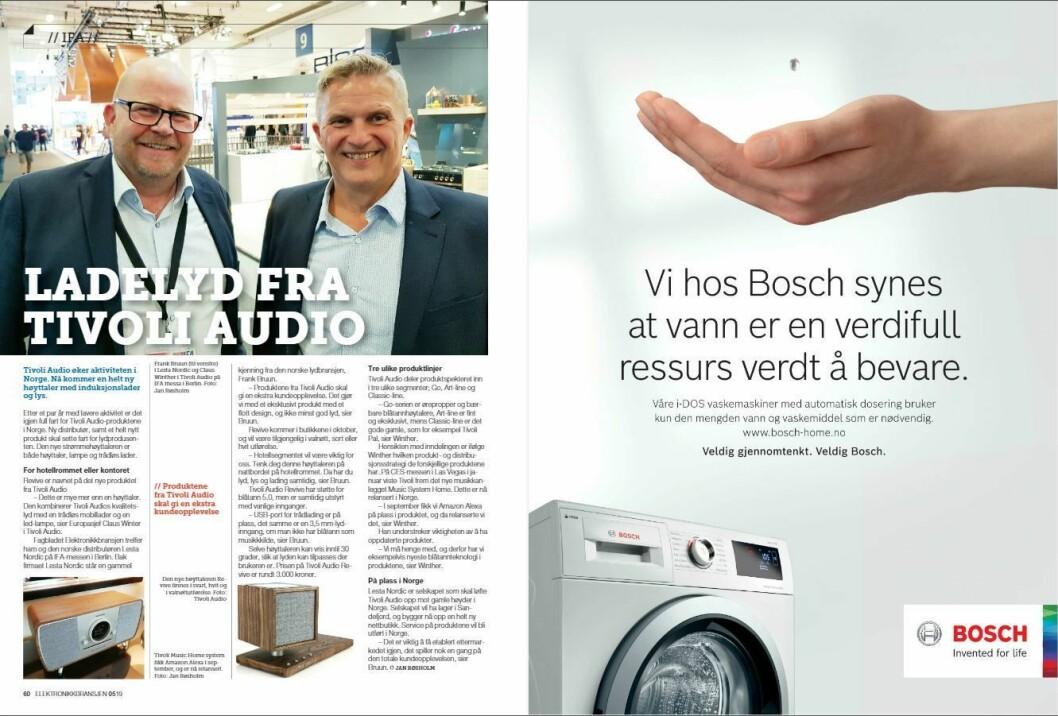 """Artikkelen ble første gang publisert i papirutgaven av fagbladet Elektronikkbransjen nr. 5/2019, som ble distribuert 9. oktober. <a href=""""http://www.mypaper.se/html5/customer/248/12614/?page=60"""" target=""""_blank"""" rel=""""noopener"""">Her kan du lese artikkelen</a> og bla gjennom digitalutgaven av bladet. Du kan lese alle utgaver av bladet digitalt, fra og med nr. 1/1937, på <a href=""""https://www.elektronikkbransjen.no/historiskarkiv"""" target=""""_blank"""" rel=""""noopener"""">elektronikkbransjen.no/historiskarkiv</a>."""