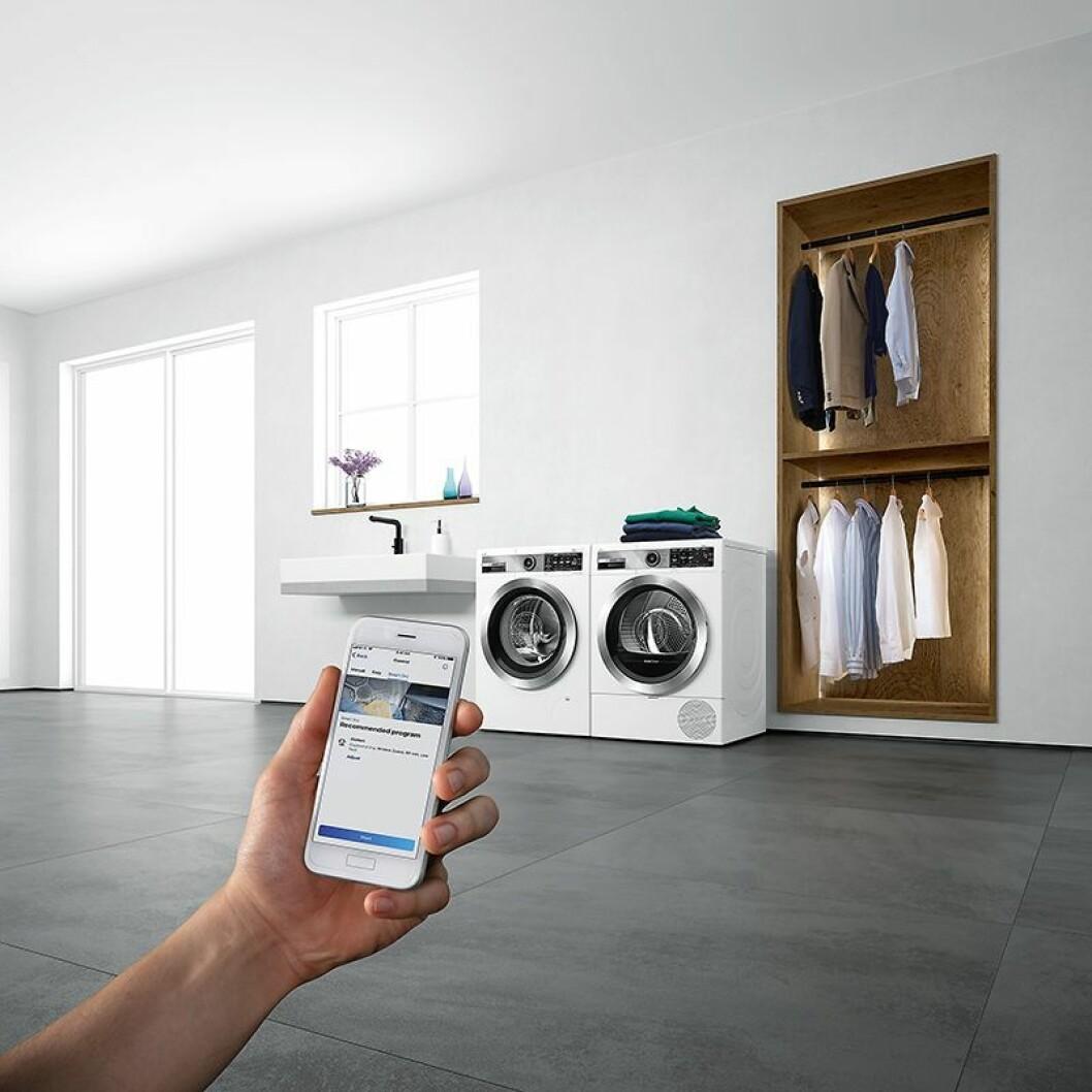 Home Connect er BSHs løsning for smartere hvitevarer, og rulles ut i stadig flere modeller. Foto: BSH.