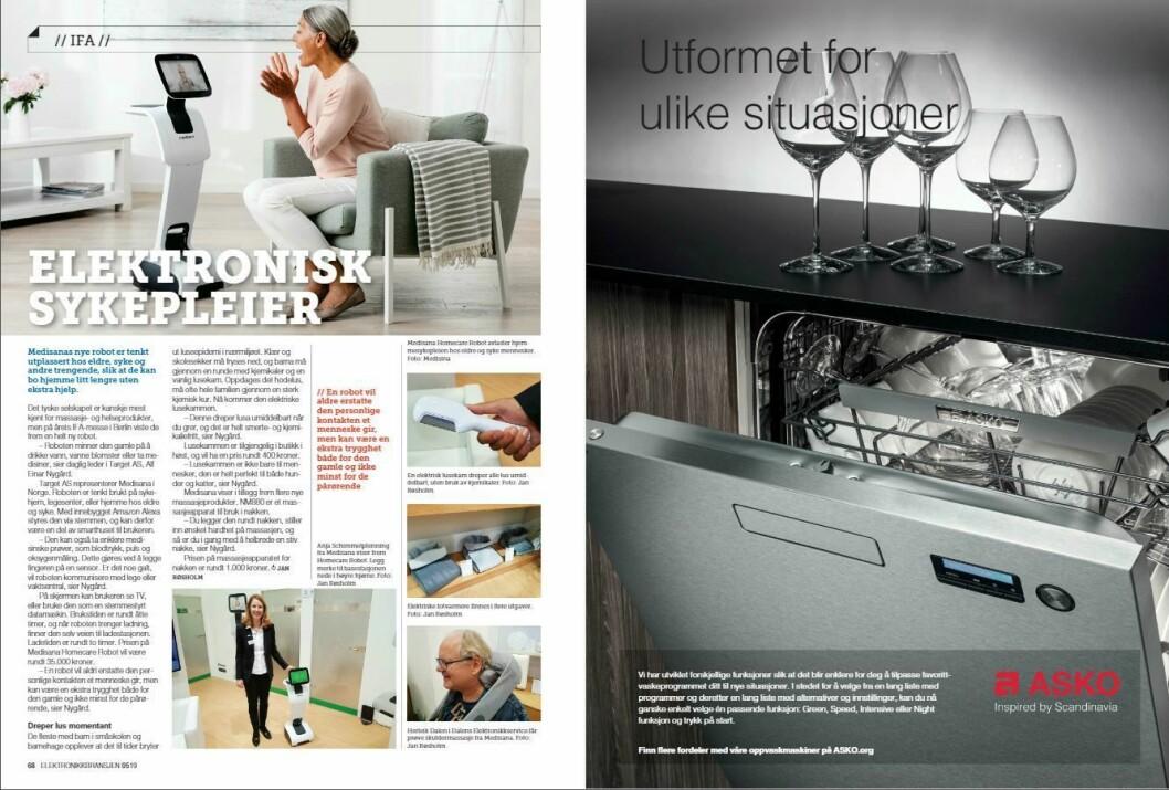 """Artikkelen ble første gang publisert i papirutgaven av fagbladet Elektronikkbransjen nr. 5/2019, som ble distribuert 9. oktober. <a href=""""http://www.mypaper.se/html5/customer/248/12614/?page=68"""" target=""""_blank"""" rel=""""noopener"""">Her kan du lese artikkelen</a> og bla gjennom digitalutgaven av bladet. Du kan lese alle utgaver av bladet digitalt, fra og med nr. 1/1937, på <a href=""""https://www.elektronikkbransjen.no/historiskarkiv"""" target=""""_blank"""" rel=""""noopener"""">elektronikkbransjen.no/historiskarkiv</a>."""