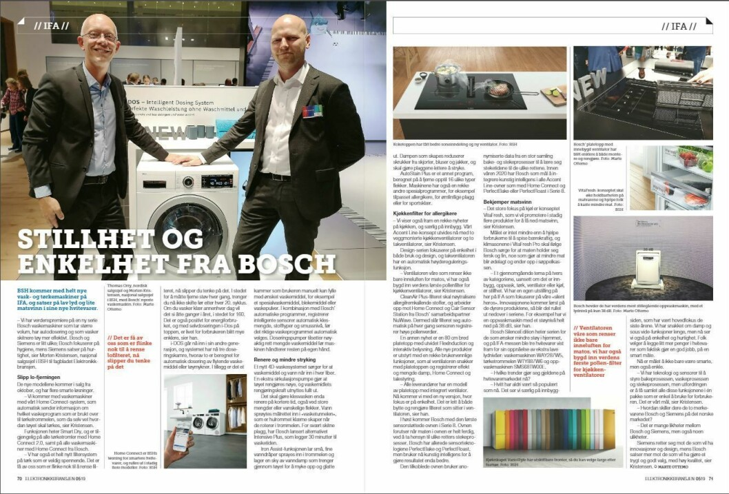 """Artikkelen ble første gang publisert i papirutgaven av fagbladet Elektronikkbransjen nr. 5/2019, som ble distribuert 9. oktober. <a href=""""http://www.mypaper.se/html5/customer/248/12614/?page=70"""" target=""""_blank"""" rel=""""noopener"""">Her kan du lese artikkelen</a> og bla gjennom digitalutgaven av bladet. Du kan lese alle utgaver av bladet digitalt, fra og med nr. 1/1937, på <a href=""""https://www.elektronikkbransjen.no/historiskarkiv"""" target=""""_blank"""" rel=""""noopener"""">elektronikkbransjen.no/historiskarkiv</a>."""