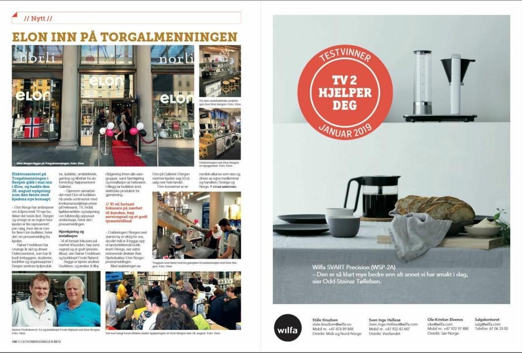 """Artikkelen ble første gang publisert i papirutgaven av fagbladet Elektronikkbransjen nr. 5/2019, som ble distribuert 9. oktober. <a href=""""http://www.mypaper.se/html5/customer/248/12614/?page=106"""" target=""""_blank"""" rel=""""noopener"""">Her kan du lese artikkelen</a> og bla gjennom digitalutgaven av bladet. Du kan lese alle utgaver av bladet digitalt, fra og med nr. 1/1937, på <a href=""""https://www.elektronikkbransjen.no/historiskarkiv"""" target=""""_blank"""" rel=""""noopener"""">elektronikkbransjen.no/historiskarkiv</a>."""