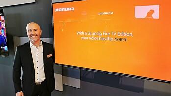 GRUNDIG FØRST MED INNEBYGD FIRE TV