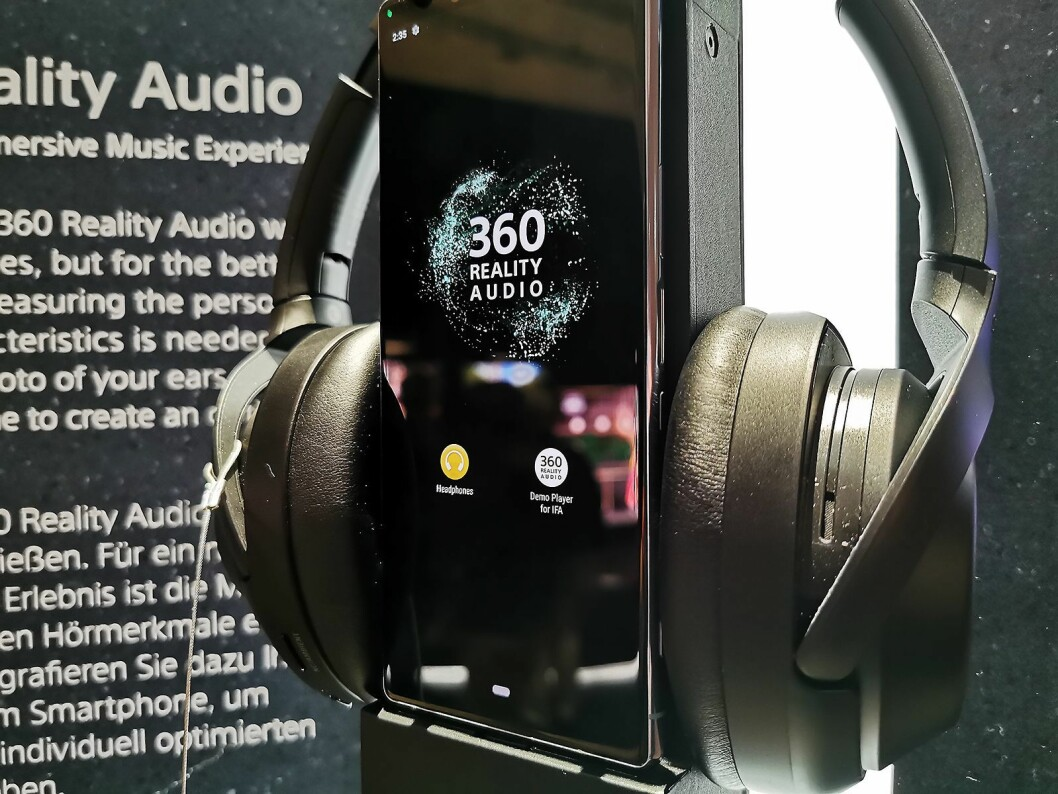 360 Reality Audio er et samarbeid mellom Sony Electronics og Sony Music. Foto: Stian Sønsteng.