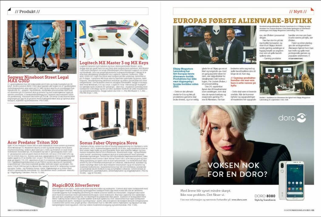 """Artikkelen ble første gang publisert i papirutgaven av fagbladet Elektronikkbransjen nr. 5/2019, som ble distribuert 9. oktober. <a href=""""http://www.mypaper.se/html5/customer/248/12614/?page=104"""" target=""""_blank"""" rel=""""noopener"""">Her kan du lese artikkelen</a> og bla gjennom digitalutgaven av bladet. Du kan lese alle utgaver av bladet digitalt, fra og med nr. 1/1937, på <a href=""""https://www.elektronikkbransjen.no/historiskarkiv"""" target=""""_blank"""" rel=""""noopener"""">elektronikkbransjen.no/historiskarkiv</a>."""