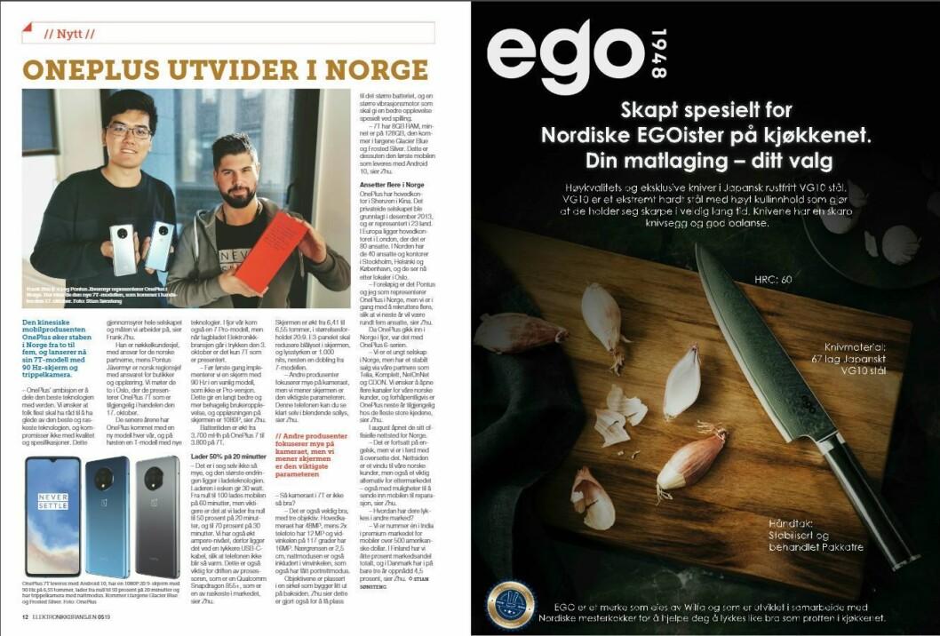 """Artikkelen ble første gang publisert i papirutgaven av fagbladet Elektronikkbransjen nr. 5/2019, som ble distribuert 9. oktober. <a href=""""http://www.mypaper.se/html5/customer/248/12614/?page=12"""" target=""""_blank"""" rel=""""noopener"""">Her kan du lese artikkelen</a> og bla gjennom digitalutgaven av bladet. Du kan lese alle utgaver av bladet digitalt, fra og med nr. 1/1937, på <a href=""""https://www.elektronikkbransjen.no/historiskarkiv"""" target=""""_blank"""" rel=""""noopener"""">elektronikkbransjen.no/historiskarkiv</a>."""
