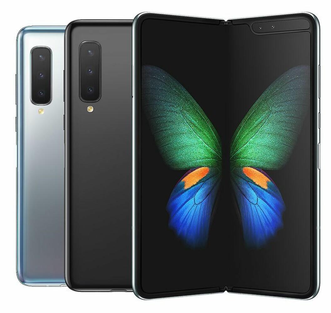 Samsung Galaxy Fold. Pris: 21.000,- Foto: Samsung.