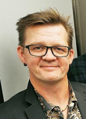 Gjermund Stordahl er butikksjef i 4Sound Moss Stordahl Musikk, som er en av de tre franchice-takerne i kjeden. Alle disse driver videre som før. Foto: Stian Sønsteng.