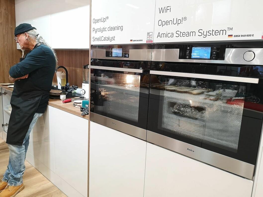 Grams nye ovner har fått forbedret damp, og i Polen (under merkevaren Amica) også wifi. Foto: Marte Ottemo