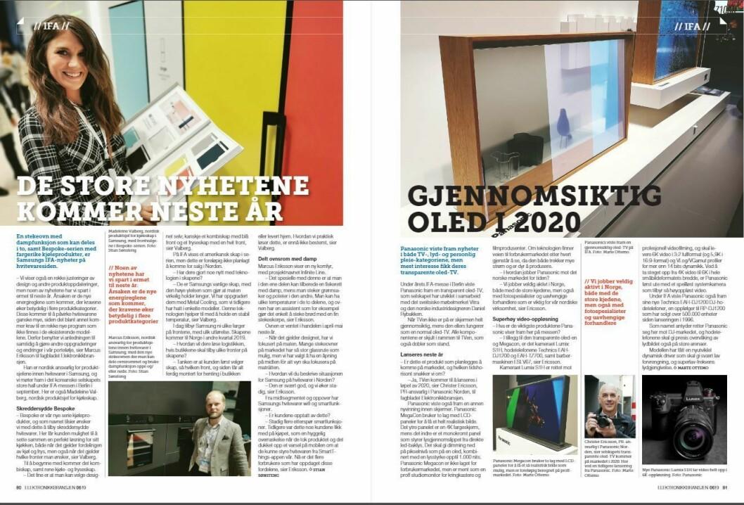 """Artikkelen ble første gang publisert i papirutgaven av fagbladet Elektronikkbransjen nr. 6/2019, som ble distribuert 20. november. <a href=""""http://www.mypaper.se/html5/customer/248/12666/?page=80"""" target=""""_blank"""" rel=""""noopener"""">Her kan du lese artikkelen</a> og bla gjennom digitalutgaven av bladet. Du kan lese alle utgaver av bladet digitalt, fra og med nr. 1/1937, på <a href=""""https://www.elektronikkbransjen.no/historiskarkiv"""" target=""""_blank"""" rel=""""noopener"""">elektronikkbransjen.no/historiskarkiv</a>."""