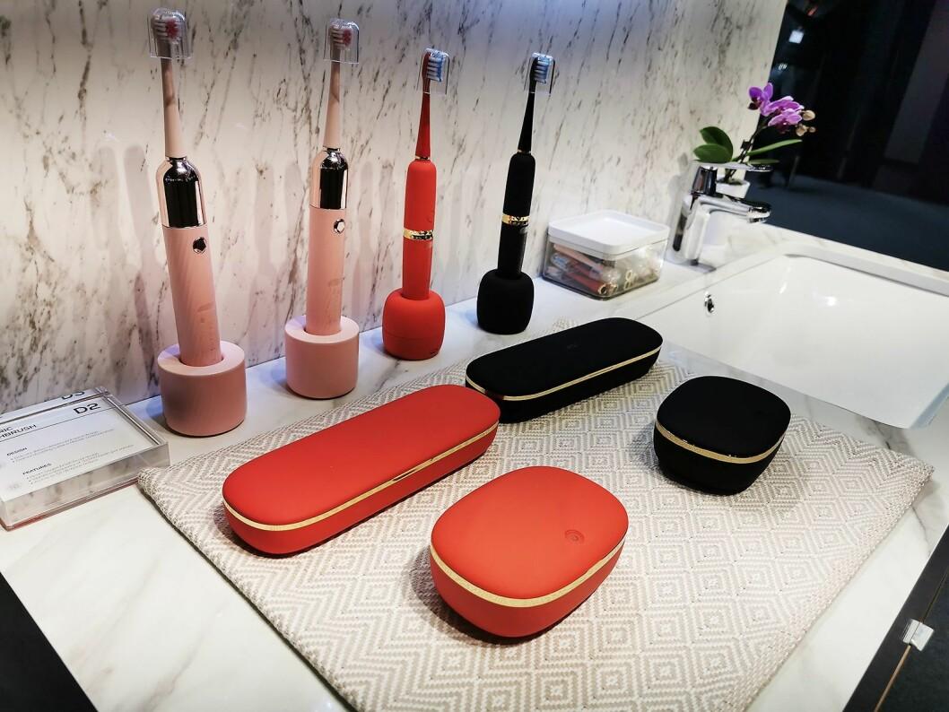 TCL produserer også elektriske tannbørster. Foto: Stian Sønsteng.