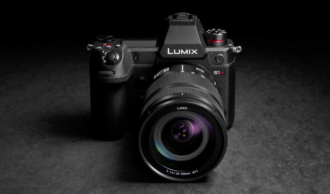Nye Panasonic Lumix S1H tar video helt opp i 6K-oppløsning. Foto: Panasonic.