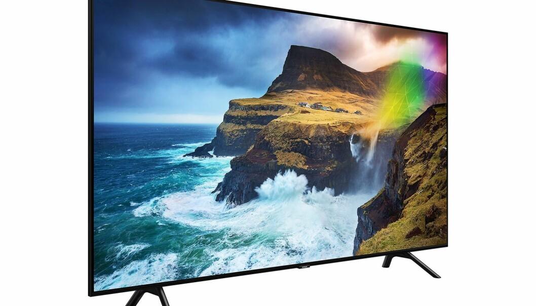 Årets TV: Samsung Q70R. Foto: Samsung.
