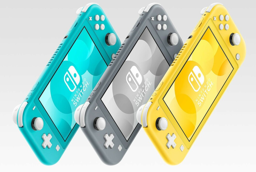 Finalist: Nintendo Switch Lite. Foto: Nintendo.