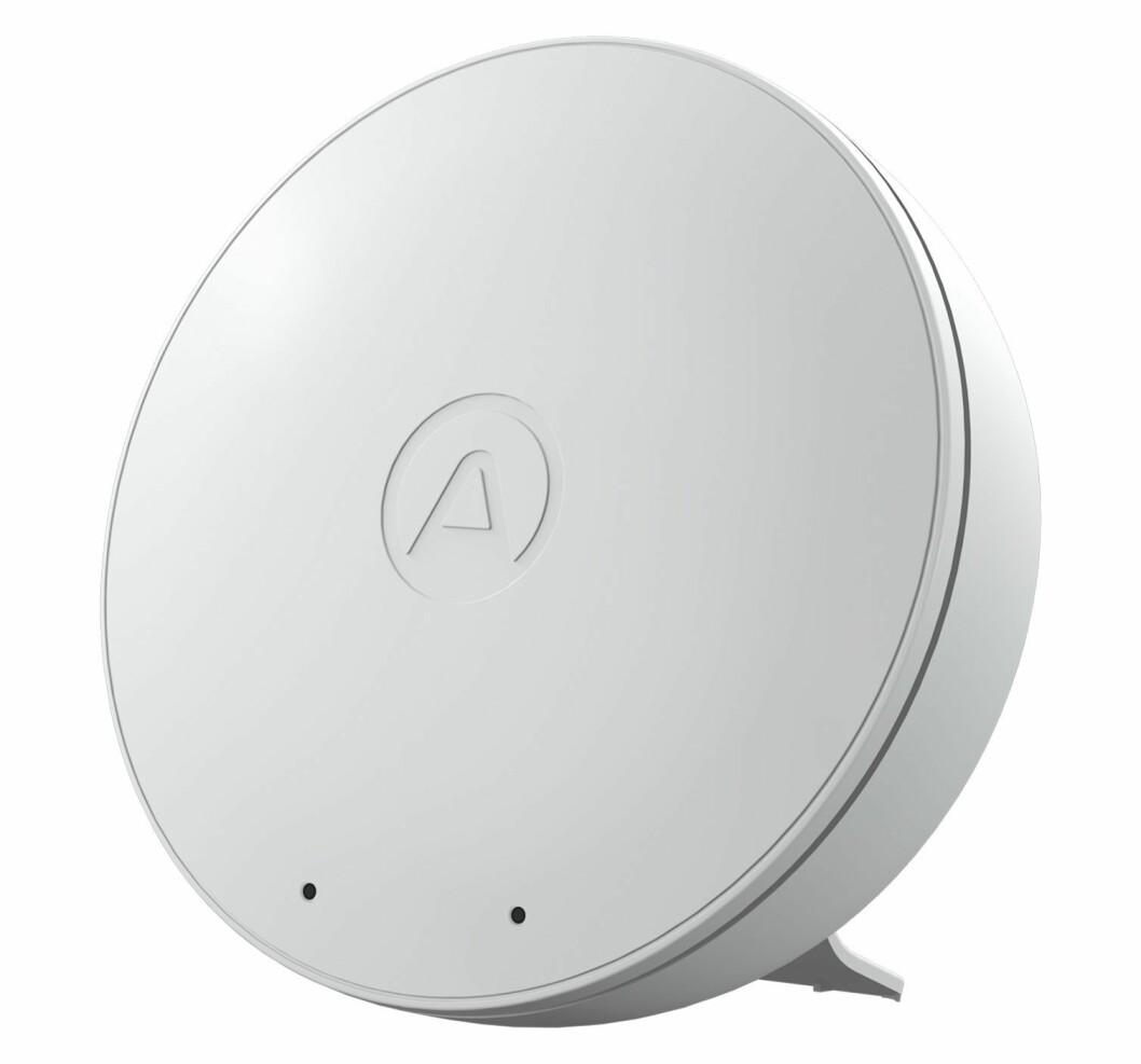 Airthings Wave Mini er kåret til Årets smarthjem-produkt. Foto: Airthings.