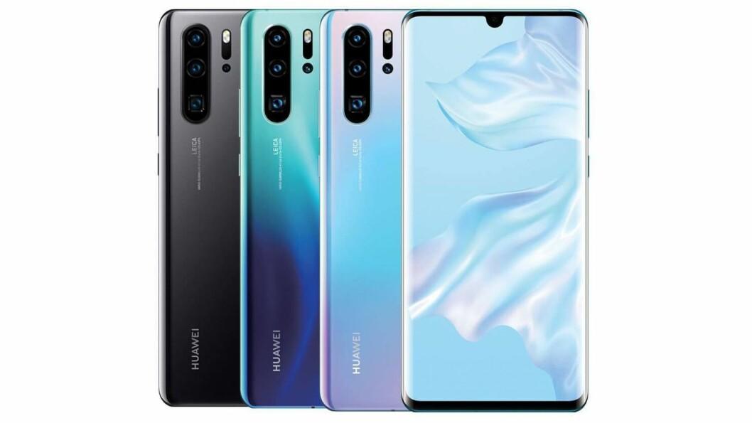 Huawei P30 Pro er kåret til Årets mobil 2019/20. Foto: Huawei.