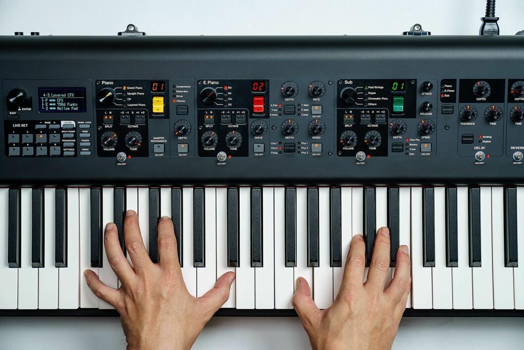 Finalist: Yamaha CP88/73-serien. Foto: Yamaha.