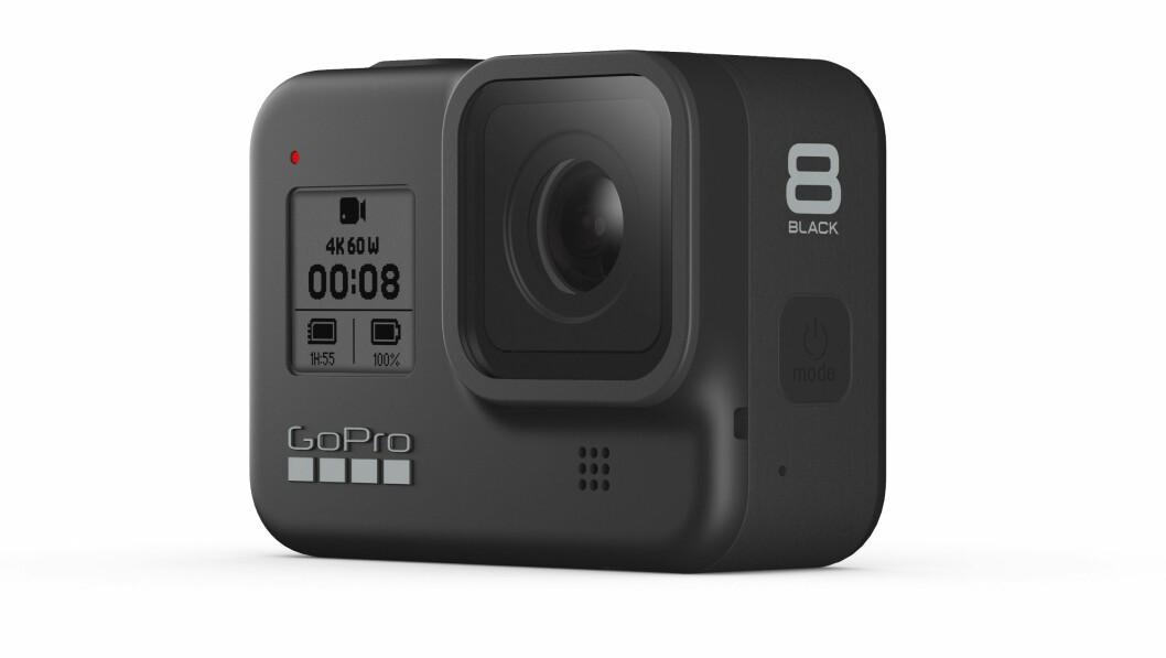 GoPro Hero 8 er kåret til Årets Foto- og videoprodukt 2019/20. Foto: GoPro
