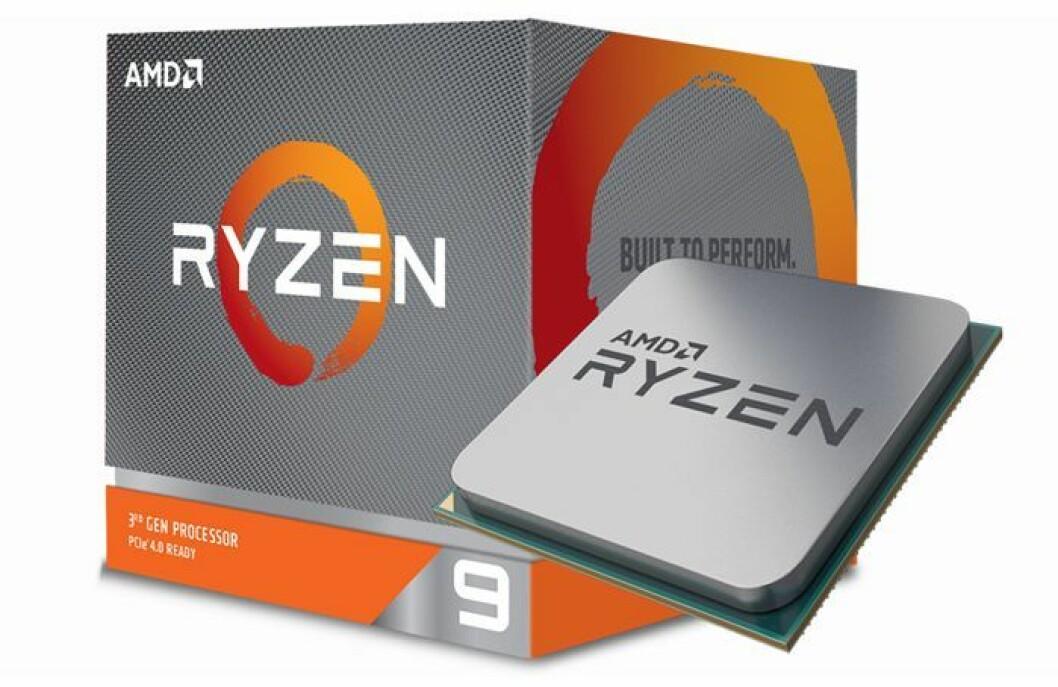 AMD Ryzen 9 3900X er kåret til Årets dataprodukt 2019/20. Foto: AMD Ryzen.