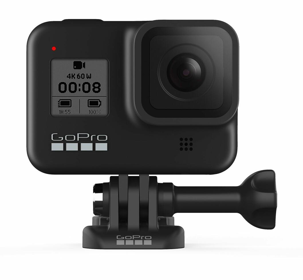 GoPro Hero 8 er kåret til Årets Foto- og videoprodukt 2019/20. Foto: GoPro.