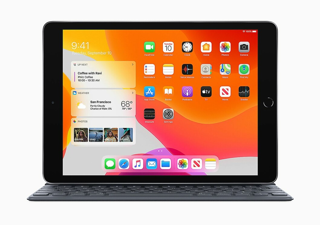 Finalist: Apple iPad 10,2. Foto: Apple.