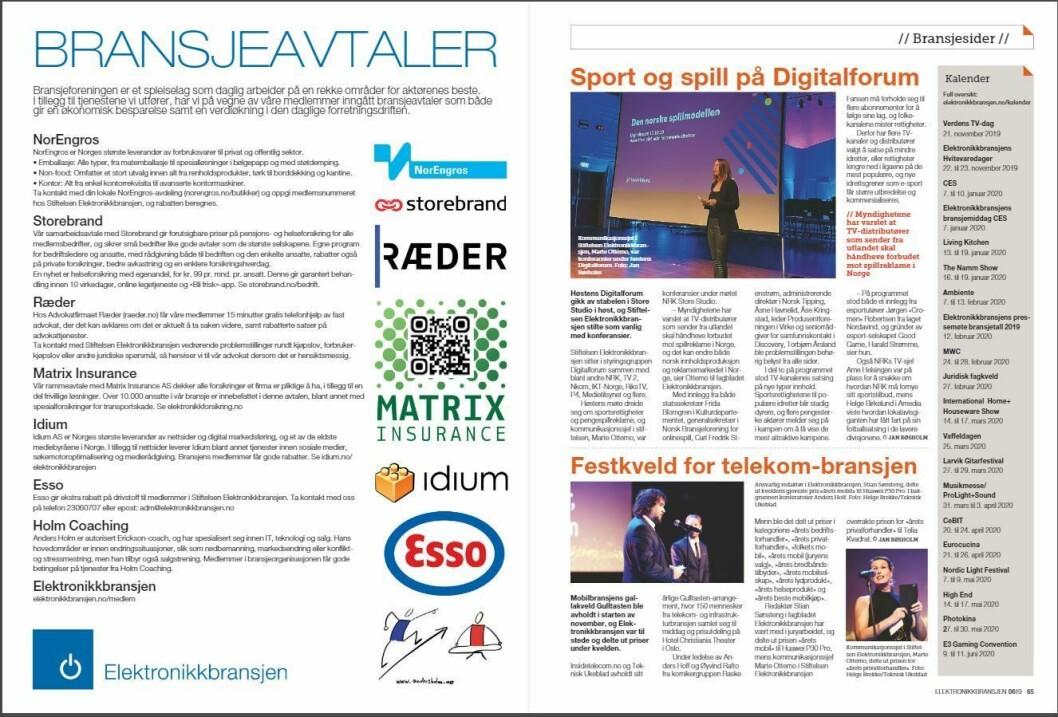 """Artikkelen ble første gang publisert i papirutgaven av fagbladet Elektronikkbransjen nr. 6/2019, som ble distribuert 20. november. <a href=""""http://www.mypaper.se/html5/customer/248/12666/?page=64"""" target=""""_blank"""" rel=""""noopener"""">Her kan du lese artikkelen</a> og bla gjennom digitalutgaven av bladet. Du kan lese alle utgaver av bladet digitalt, fra og med nr. 1/1937, på <a href=""""https://www.elektronikkbransjen.no/historiskarkiv"""" target=""""_blank"""" rel=""""noopener"""">elektronikkbransjen.no/historiskarkiv</a>."""