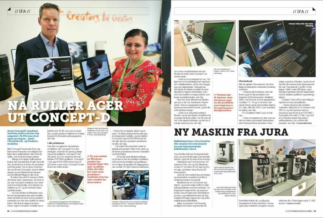 """Artikkelen ble første gang publisert i papirutgaven av fagbladet Elektronikkbransjen nr. 6/2019, som ble distribuert 20. november. <a href=""""http://www.mypaper.se/html5/customer/248/12666/?page=88"""" target=""""_blank"""" rel=""""noopener"""">Her kan du lese artikkelen</a> og bla gjennom digitalutgaven av bladet. Du kan lese alle utgaver av bladet digitalt, fra og med nr. 1/1937, på <a href=""""https://www.elektronikkbransjen.no/historiskarkiv"""" target=""""_blank"""" rel=""""noopener"""">elektronikkbransjen.no/historiskarkiv</a>."""