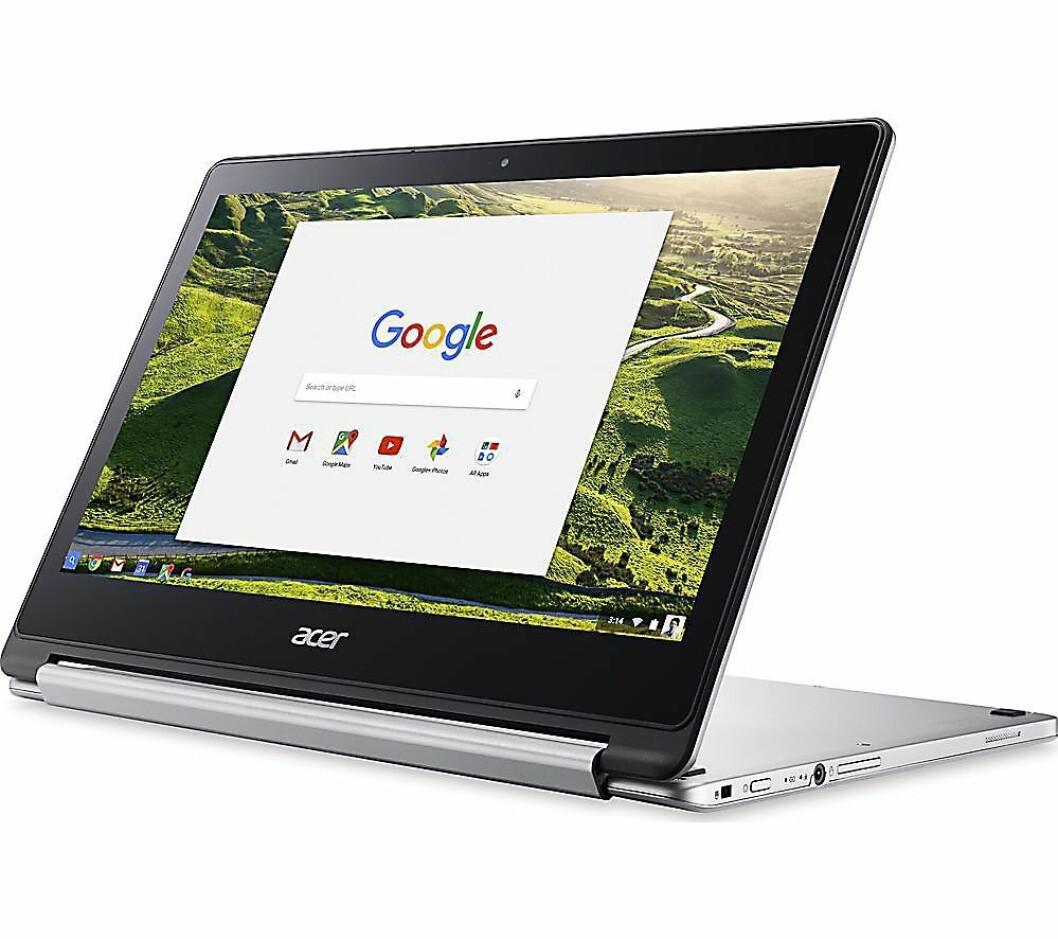 Acer og Peter Kaic har tro på Chromebook-markedet, her er selskapets r13-modell. Foto: Acer.