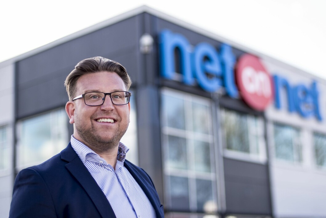 Peter Andersson er norsk detaljhandelssjef i NetOnNet. Foto: NetOnNet.