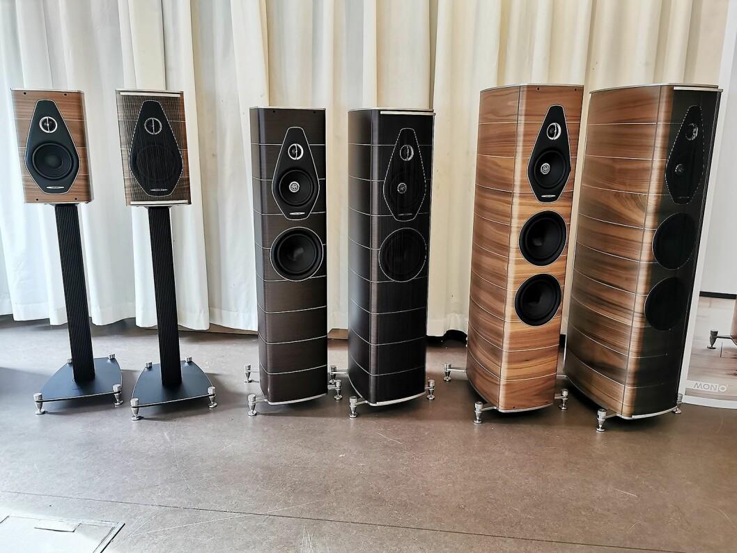 Sonus Faber Olympica Nova-serien koster fra 60.000 til 150.000 kroner per par. Foto: Stian Sønsteng.