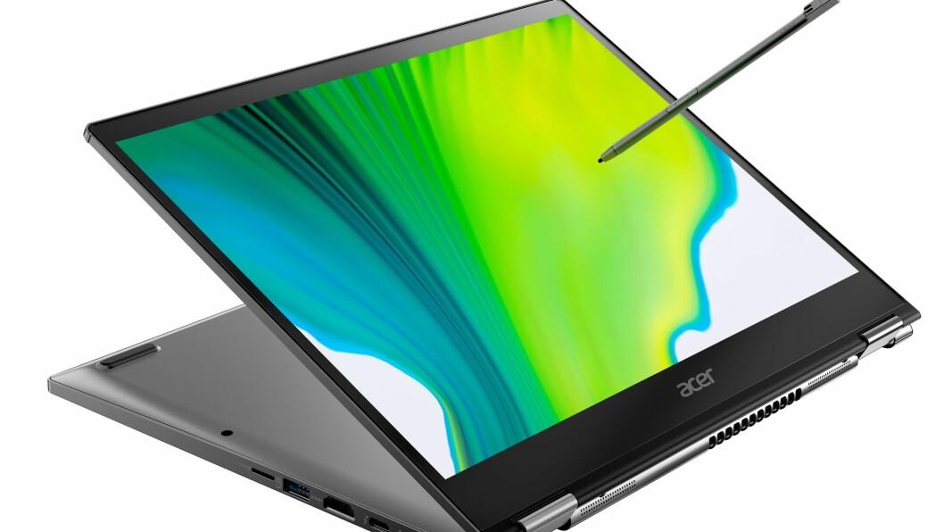 Acer Spin5 har blitt slankere og lettere. Foto: Acer
