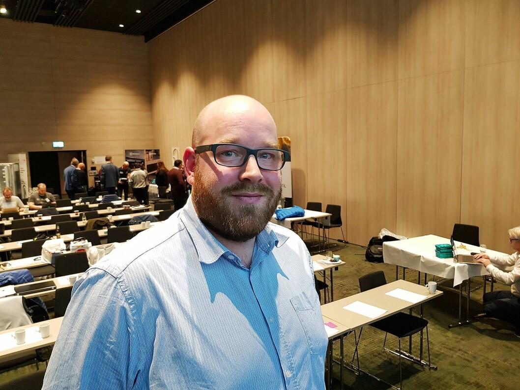 Et av hovedtemaene på konferansen var kundebehandling, og håndtering av vanskelige kunder. Erik Skjerve holdt innlegg rundt temaet. Foto: Jan Røsholm.