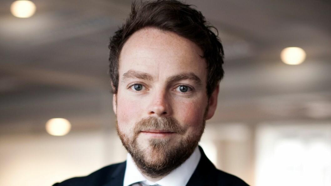 Næringsminister Torbjørn Røe Isaksen sier Doga-merket viser hvordan design bidrar til verdiskapning. Foto: Regjeringen.