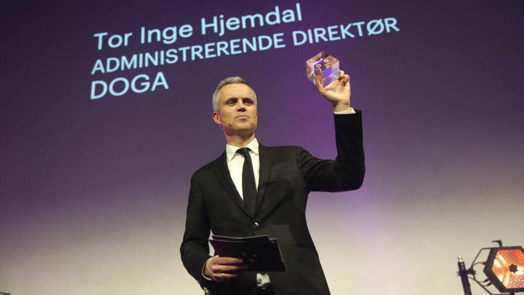 Administrerende direktør i Doga, Tor Inge Hjemdal, sier det har vært et stort spenn i årets søknader. Foto: Doga.
